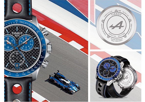 Tissot Race To The V8 Alpine Special Edition Milled