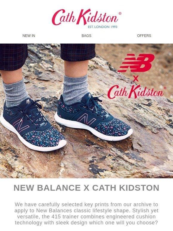 eiderdown ditsy new balance trainer