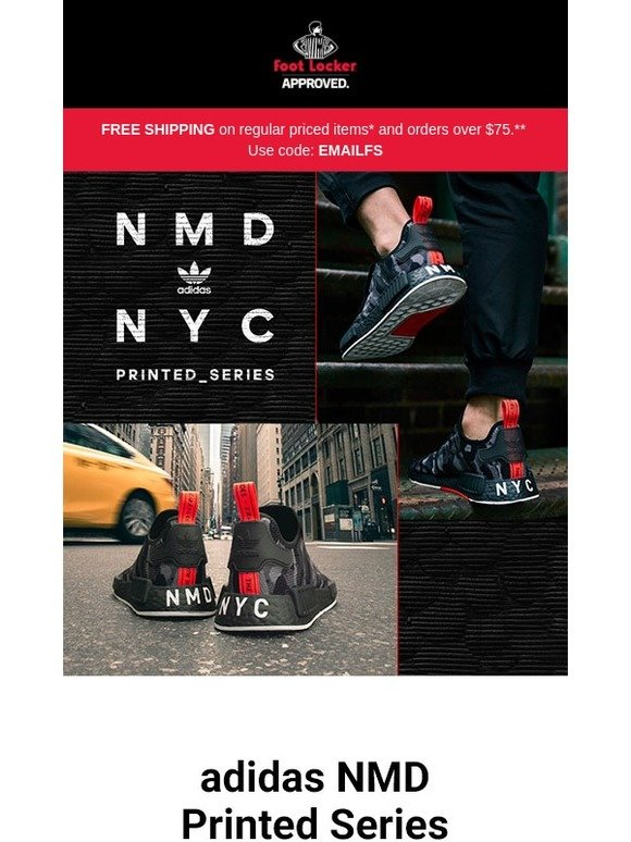 Hey, NYC: adidas NMD Printed Series