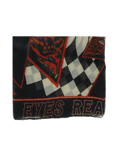 GIVENCHY Made in Italy Silk, Cashmere and Wool Mens Scarf