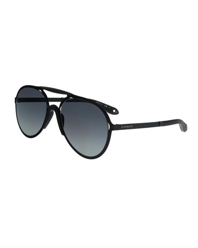 GIVENCHY Made in Italy Womens Aviator Sunglasses