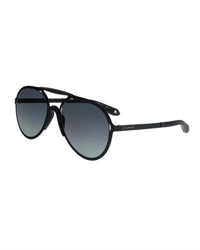 GIVENCHY Made in Italy Womens Aviator Sunglasses