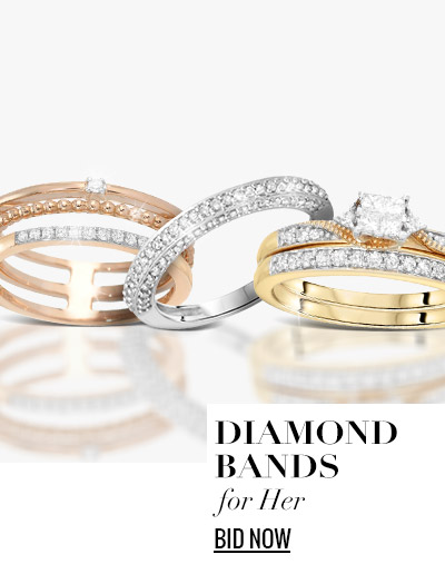 Diamond Bands for Her