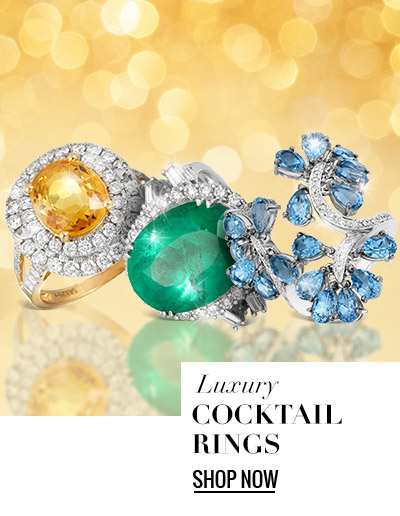 Luxury Cocktail Rings