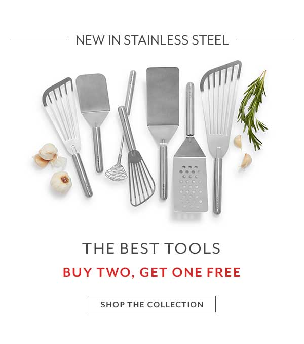Stainless Steel Tools: Buy Two, Get One Free