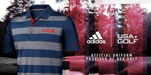 Adidas USA Golf Apparel! Shop Now At RBG!