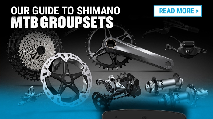 Our guide to Shimano MTB groupsets