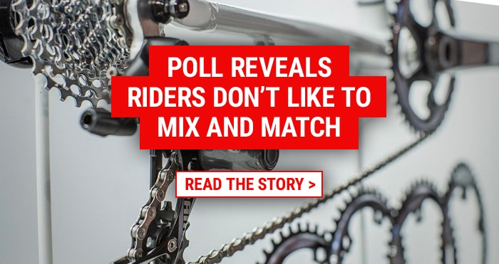 Poll reveals riders dont like to mix and match