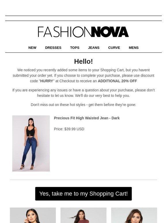 d0cf0b96dcf Fashion Nova  Hey You Forgot Something