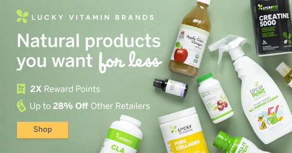 LuckyVitamin Brands: Exceptional Quality At A Great Price | Shop