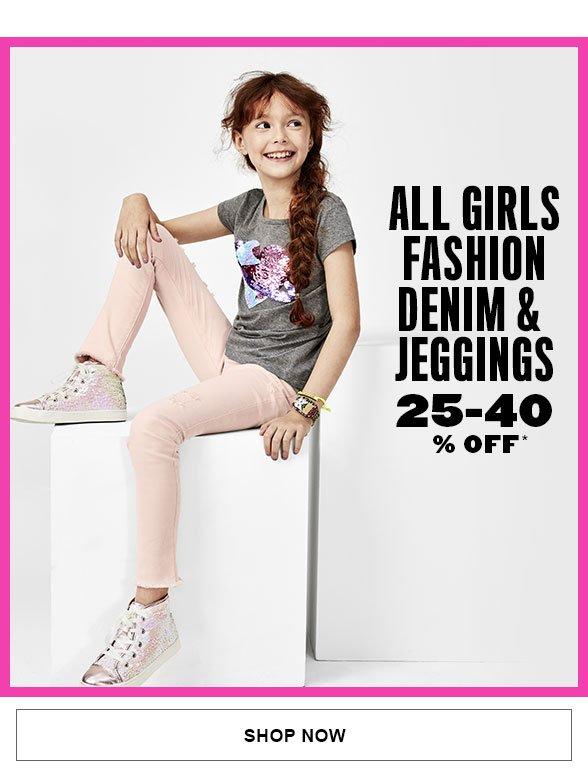 All Fashion Denim & Jeggings 25-40% Off