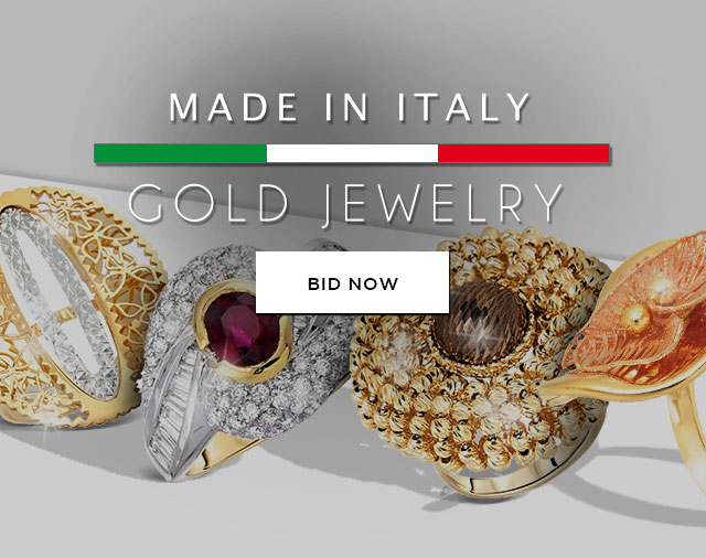 Made in Italy GOLD JEWELRY