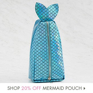 Shop 20% Off Mermaid Pouch