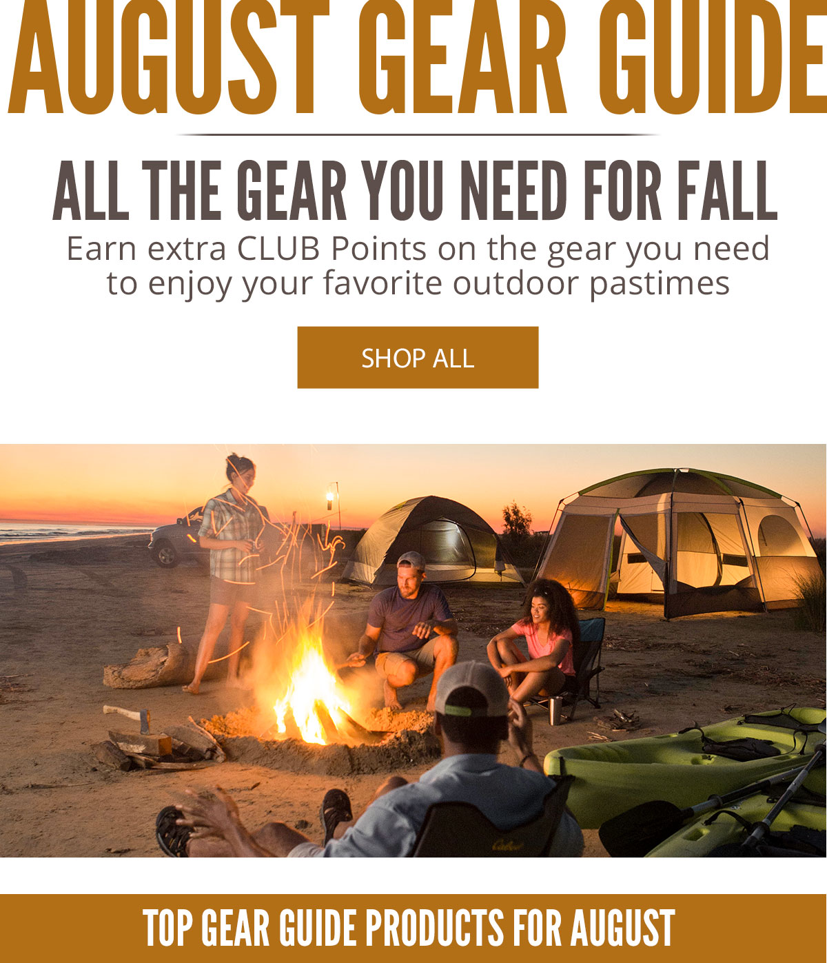 August Gear Guide - Check out all the great deals in this month's gear guide