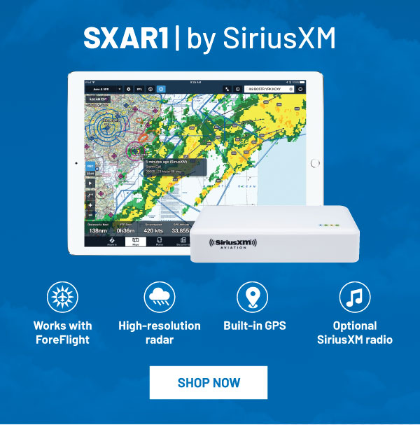 SiriusXM Aviation Receiver SXAR1