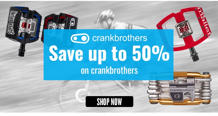 Save up to 50% on crankbrothers