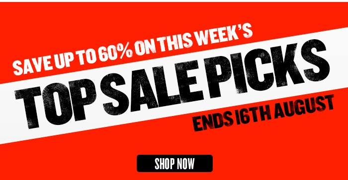 Save up to 60% on this week's Top Sale Picks