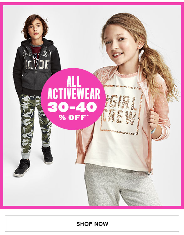 All Activewear 30-40% off