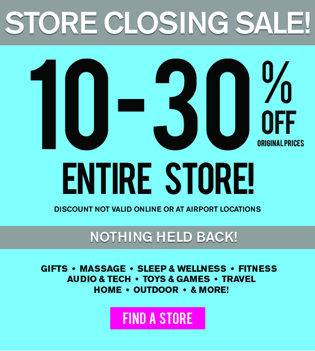 Brookstone: Your Favorite Items-ON SALE at Brookstone Mall Stores