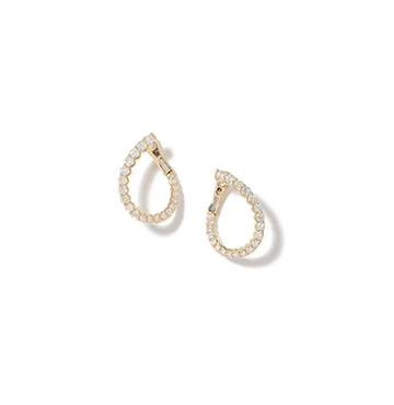 Anne Sisteron Merida Yellow-Gold Diamond Earrings $4,935