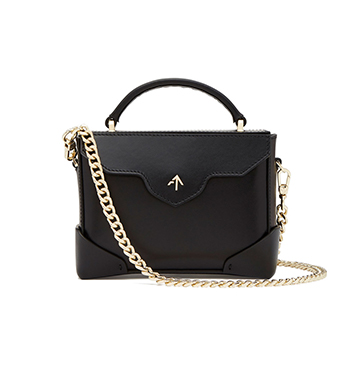 MANU Atelier Micro Bold Bag with Top Handle $565