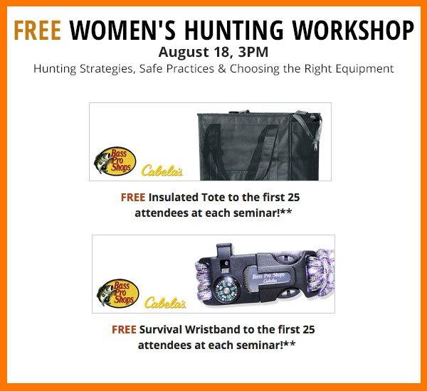 Free Women's Hunting Seminar