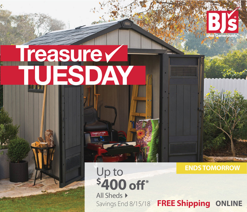 Up to $400 OFF Sheds