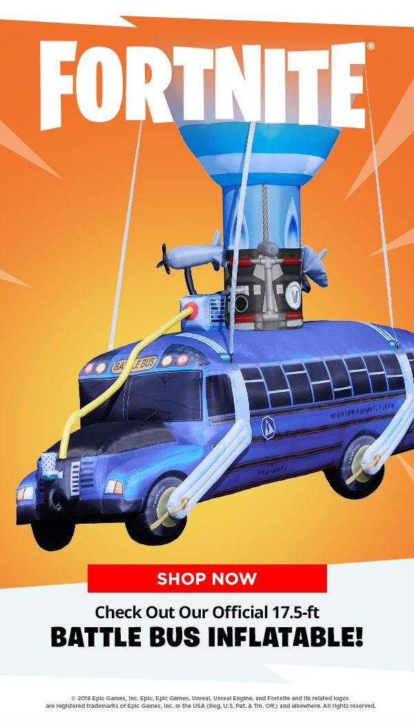 Spirit Halloween Fortnite Costumes For Kids.Spirit Halloween The Official Fortnite Battle Bus Only At