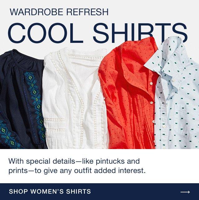 COOL SHIRTS | SHOP WOMENS SHIRTS