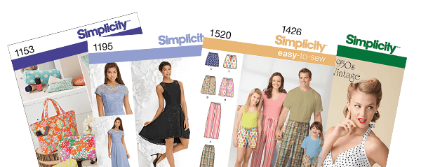 ENDS TOMORROW. In-Store Only. 40% off plus extra 50% off Your Total Purchase of Simplicity Patterns.