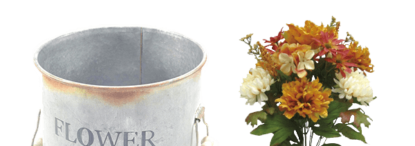 ENDS TOMORROW. 50% Bloom Room Floral and Containers.