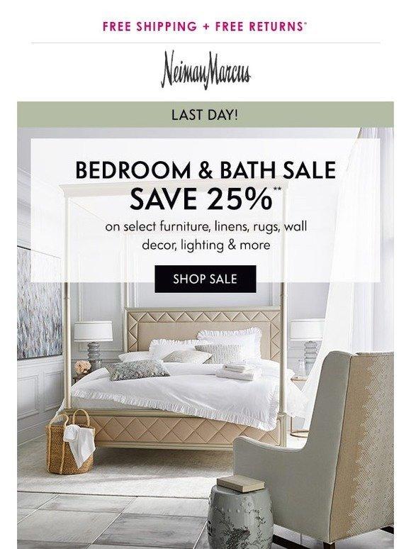 Neiman marcus bedroom bath Modern Milled Neiman Marcus Hurry Bedroom Bath Sale Ending Today Milled
