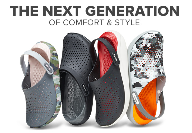 3df2d4c87fbf Crocs  Check out new colors and graphics in LiteRide™