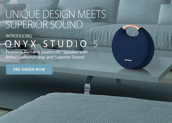 Harman Kardon: Introducing the Onyx Studio 5 Bluetooth®