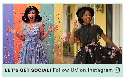 Follow UV on Instagram