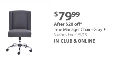 True Manager Chair