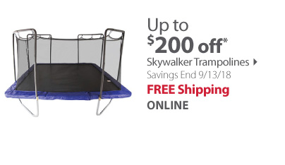 15 Ft Square Trampoline with Blue Spring Pad