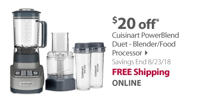 CUISINART BLENDER-FOOD PROCESSPR