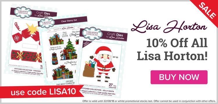 10% Off All Lisa Horton!