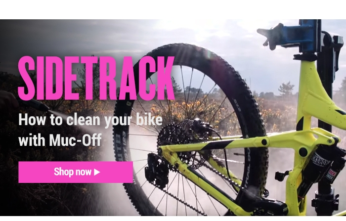How to clean your bike with Muc-Off
