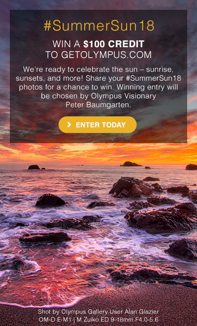 Share your #SummerSun18 photos for a chance to win.