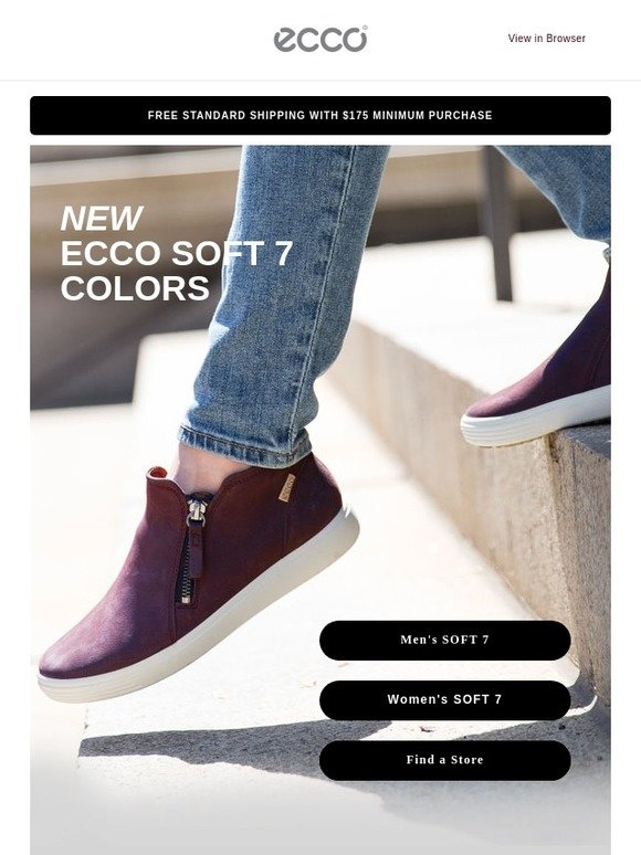 3c9f88920 ECCO USA SHOES  A fresh start to your day!