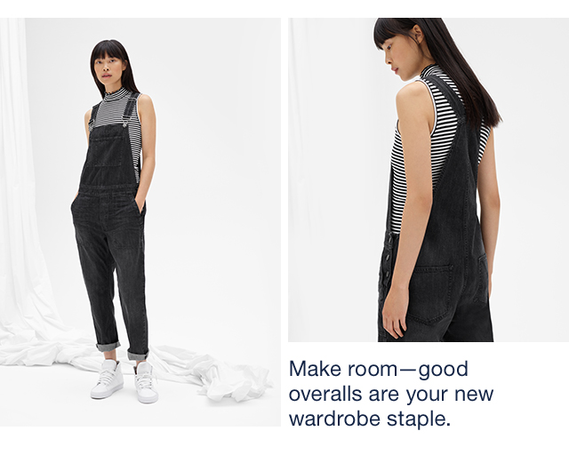 Make roomgood overalls are your new wardrobe staple.