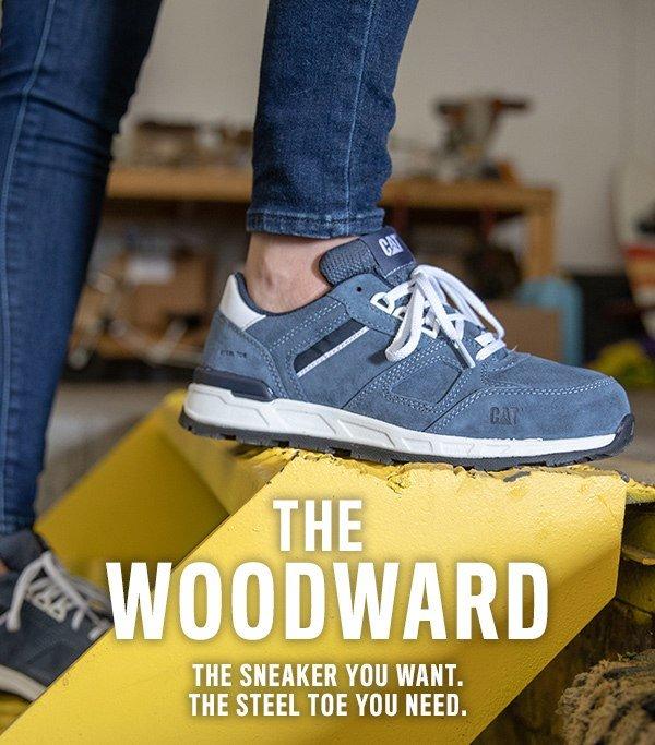 woodward steel toe work shoe factory