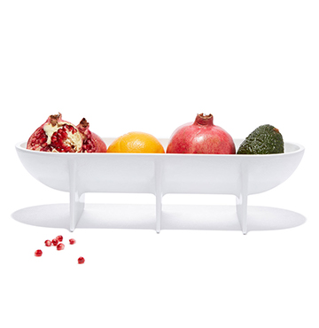 FS Objects Large Standing Bowl $110