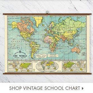 Shop Vintage School Chart
