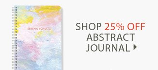 Shop 25% Off Abstract Journal!