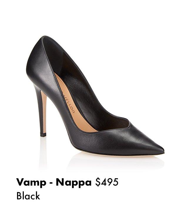 Vamp - Nappa Black