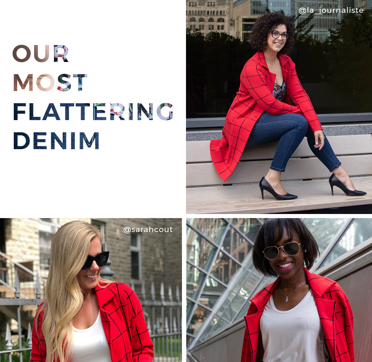 Our most flattering denim