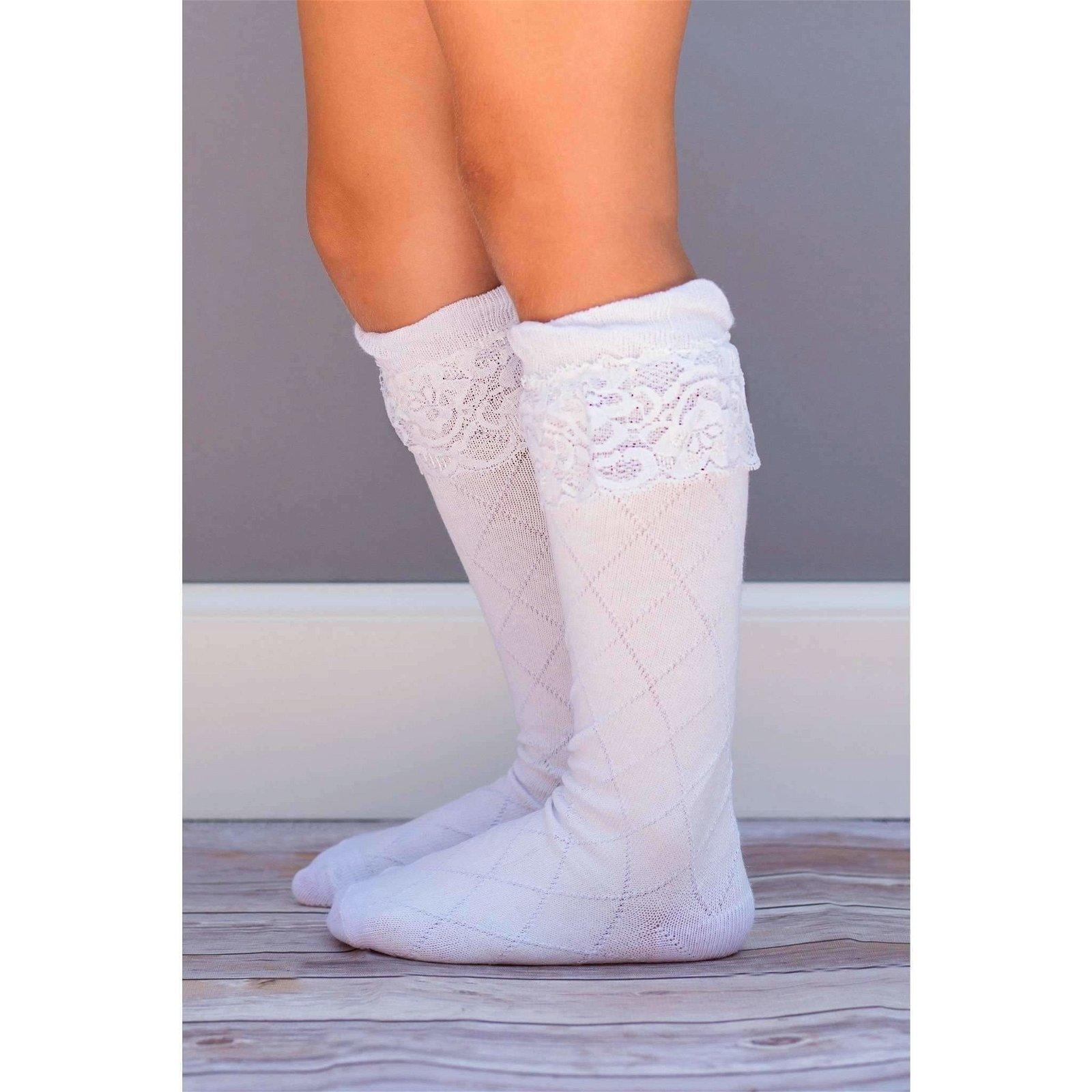 Lace Knee Socks